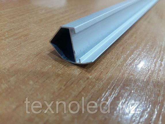 Алюминиевый   профель для Led угловой ветринный, фото 2