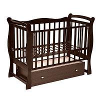 Детская кроватка Антел Северянка 1 Шоколад, фото 1