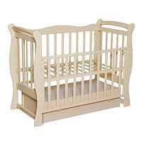 Детская кроватка Антел Северянка 1 Слоновая кость, фото 1
