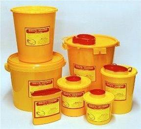 Кбу коробки (гофра и пластик) и Пакеты для сбора и утилизации медицинских отходов