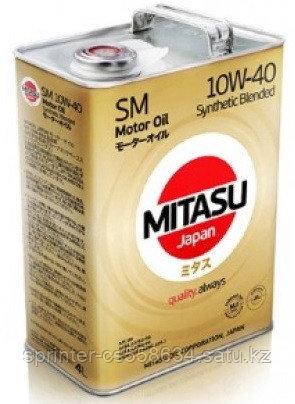 Моторное масло Mitasu motor oil SM 10w40 4 литра