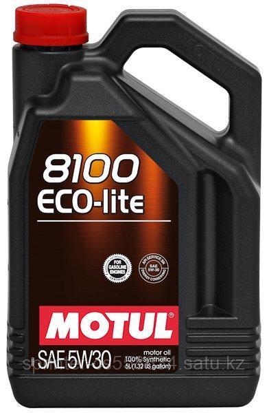 Моторное масло Motul 8100 Eco-Lite 5w30 5 литров