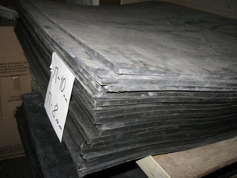 Пластины резиновые МБС, формовые 700х700 мм, фото 2