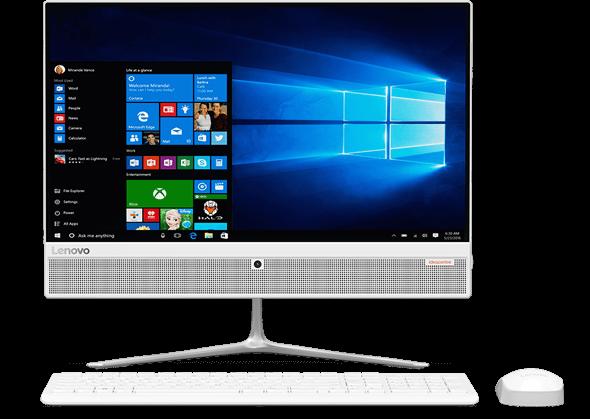 Моноблок Lenovo 21.5 core i5 7400T 4TB 1TB Win 10 510-22ISH в Алматы