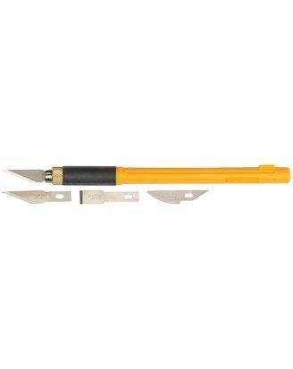 Набор OLFA Нож перовой с профильными лезвиями, 6мм, 4шт, фото 2