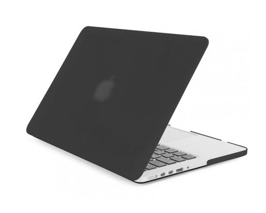 Матовый пластиковый чехол для MacBook Pro Retina 15.4'' (серый)