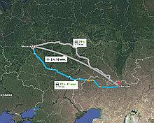 Грузоперевозки Москва-Актобе