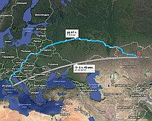 Грузоперевозки Италия-Астана