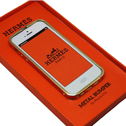 Чехол Бампер Hermes Original Apple iphone 5S, фото 2