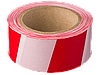 """Сигнальная лента STAYER """"MASTER"""", цвет красно-белый, 75мм х 150м"""