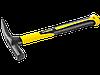 Молоток-кирочка КАМЕНЩИКА Fiberglass 600г с фиберглассовой рукояткой, STAYER Professional 20161