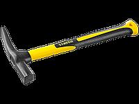 Молоток-кирочка КАМЕНЩИКА Fiberglass 600г с фиберглассовой рукояткой, STAYER Professional 20161, фото 1