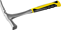 Молоток-кирочка КАМЕНЩИКА STRIKE 600г цельнометаллический, STAYER Professional 20165, фото 1
