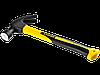 """Молоток-гвоздодер STAYER """"PROFESSIONAL"""" ProStrike укороченный с фиберглассовой рукояткой, 225г"""