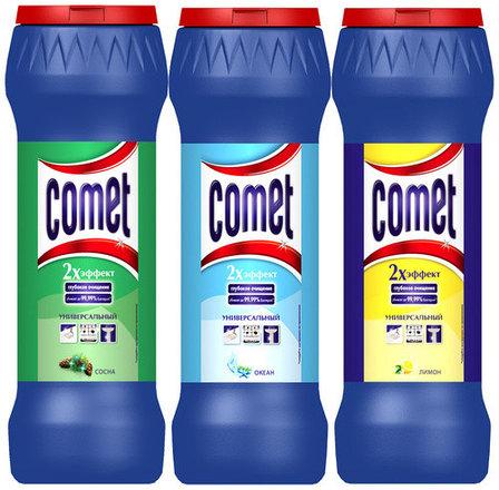 Универсальный чистящий порошок Comet, фото 2