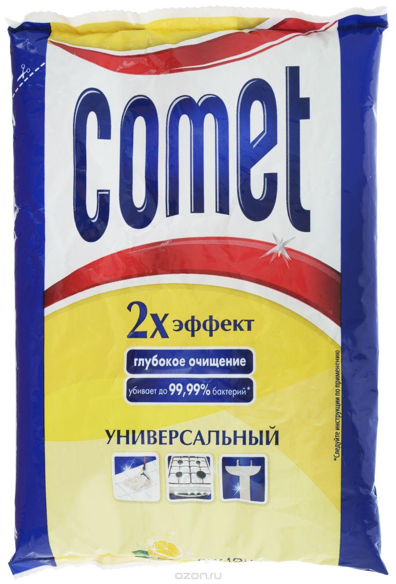 """Порошок чистящий Comet """"Лимон с хлоринолом"""", универсальный"""
