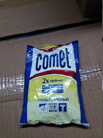 """Порошок чистящий Comet """"Лимон с хлоринолом"""", универсальный, фото 2"""