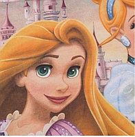 """Постельное бельё """"Принцессы"""" 1,5 сп., фото 3"""