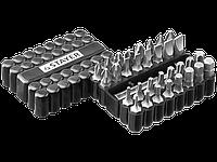 Набор, STAYER Master 26085-H33: Биты Cr-V, с магнитным адаптером, в ударопрочном держателе, 33 предмета