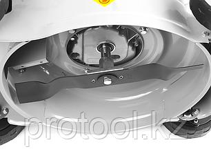 Газонокосилка бензиновая, ЗУБР ГКБ-400П, 400 мм, 99 см3, 3000 об/мин, 1.3 кВт, 3 ступеней кошения (25-65 мм), фото 2