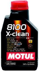 Моторное масло Motul 8100 X-Clean 5w40 1 литр