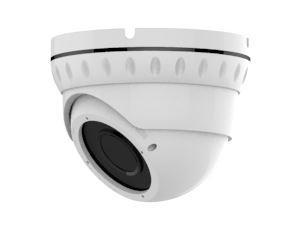 Купольная IP камера 2.0 mpx, объектив 2.8-12mm, IR 30m, Н.264/H.265