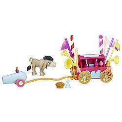 Hasbro My Little Pony Кренки Дудл и тележка для праздника