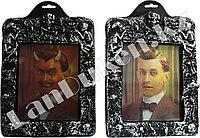Переливная картина (стерео варио) в рамке Дьявол на Хэллоуин