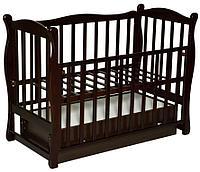 Детская кроватка Антел Северянка 1 (шоколад)