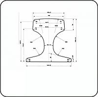 Рельсы крановые КР-100
