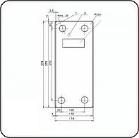 Прокладка нашпальная ЦП-361
