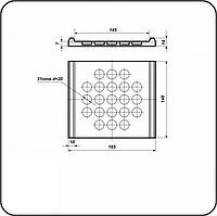 Прокладка подрельсовая ЦП-318 (ОП-356,ЦП-143)