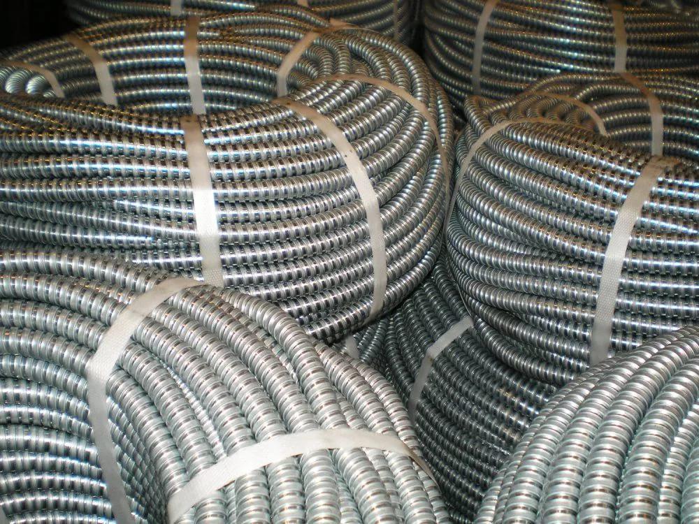 Металлорукав РЗ-ЦХ 18 (50м) с пртяжкой