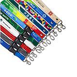 Лента для бейджа с логотипом (сублимация, полноцветное нанесение), фото 2