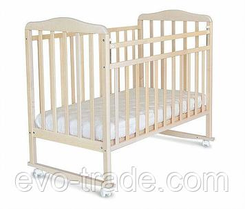 Детская кроватка Митенька колесо-качалка
