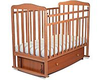 """Кровать детская """"Митенька"""" поперечный маятник с ящ."""
