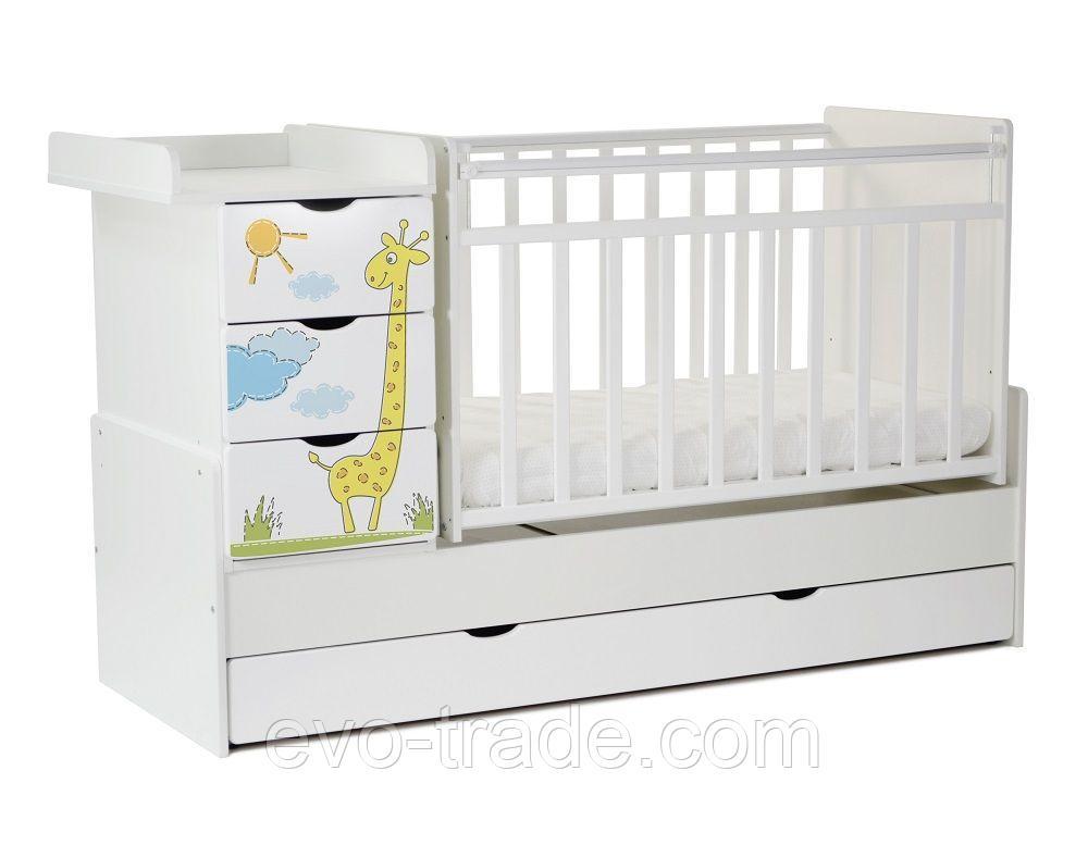 Детская кровать «Жираф»
