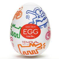 TENGA&Keith Haring Egg Мастурбатор яйцо Street, фото 1