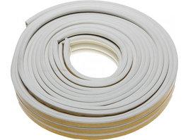 Уплотнитель резиновый самоклеящийся Зубр 40922-006 (профиль P, белый, 6м)