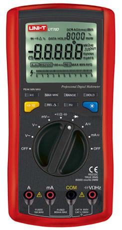 UT70D Мультиметр цифровой с автоматическим выбором диапазона UNI-T