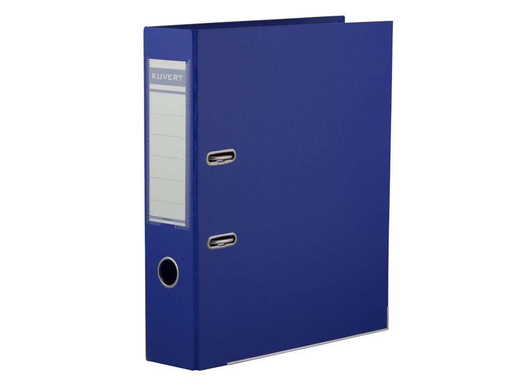 Папка-регистратор KUVERT А4, ширина 72 мм, синие