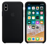 Силиконовый чехол для Apple iPhone X/ iPhone 10 (черный)