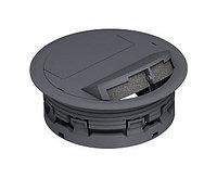 Выходное отверстие для кабелей, громмет двухсторонний ULA (D=132 мм, d=112 мм, полиамид, серый) ULA DB SA 7011, фото 1