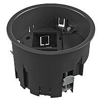 Монтажная коробка для лючка GES R2, 120х85 мм (пустая, суппорт 1+1, полиамид) MT R2 1-1, фото 1