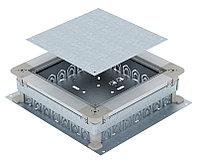Монтажное основание под заливку в бетон 410x367x70 мм (сталь) UZD 250-3 R, фото 1