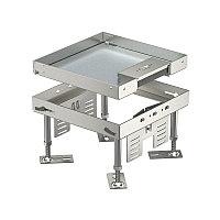 Кассетная рамка RKSN2 номинальный размер 4, 200x200 мм (напольный люк, нержавеющая сталь) RKSN2 4 VS 20, фото 1