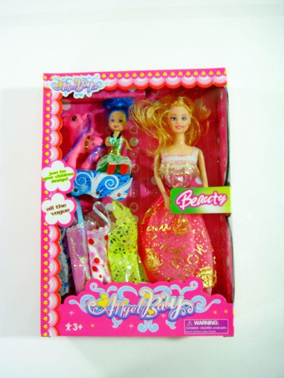 Барби с пони