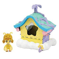 Glimmies Игровой набор - Домик Глимтерн со светящейся куклой Жужу, Dormilla