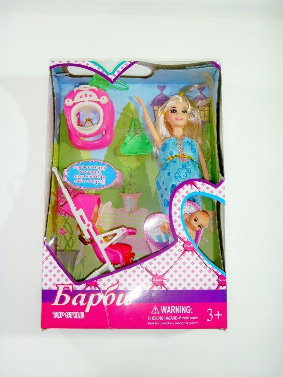 Барби беременная с коляской