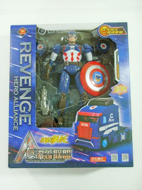 """Трансформер """"Капитан Америка"""""""
